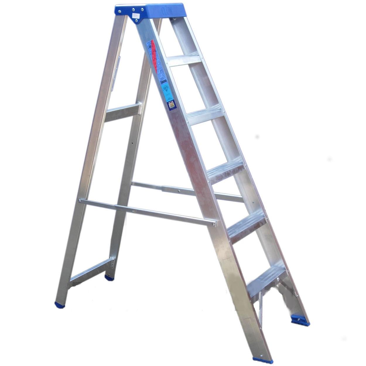 006345 Aluminium platform step