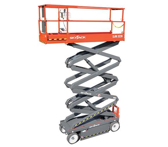 075250 26' Diesel scissor lift