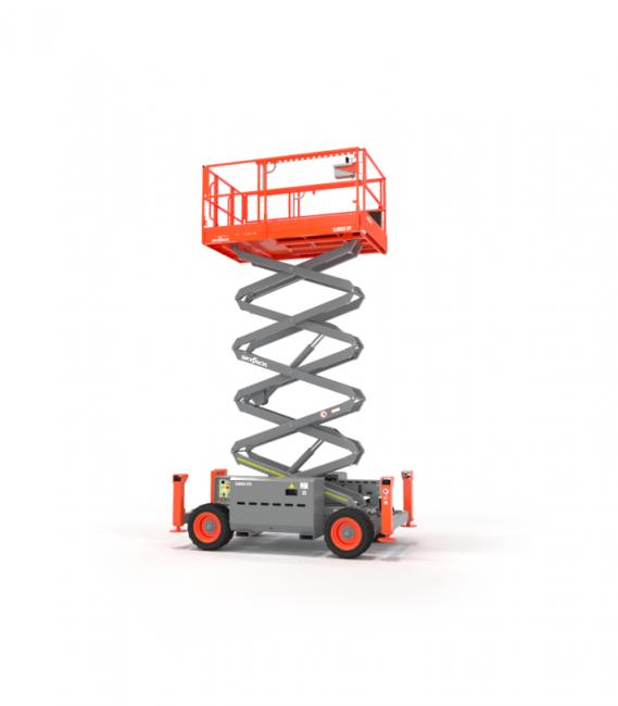 078024 26' Diesel scissor lift