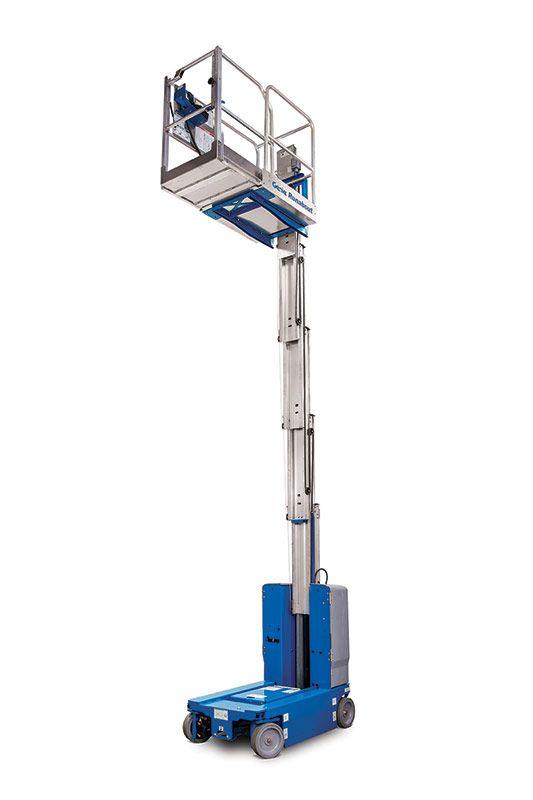 080210 25' Electric mast  lift